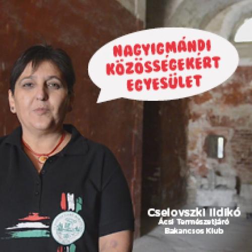 A Nagyigmándi Közösségekért Egyesületet ajánlja Cselovszki Ildikó